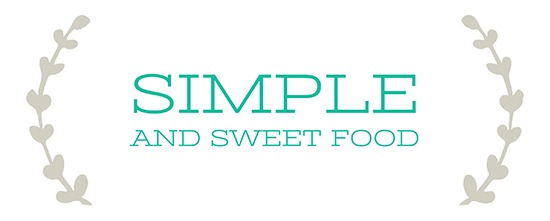 Simple and Sweet Food